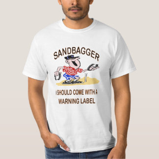 Pferd beschuht Sandbagger-Wert-T-Stück T-Shirt