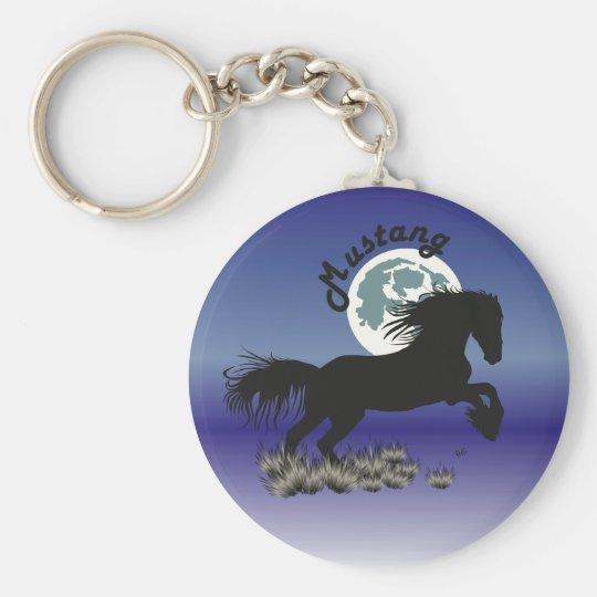 Pferd - Mustang Schlüsselanhänger