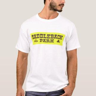 Pferd-Park-Vintager Motorrad-T - Shirt
