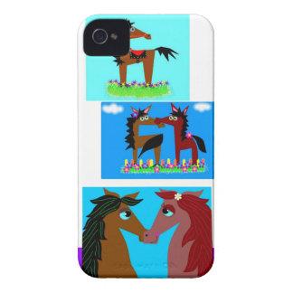 Pferde iPhone 4 Cover