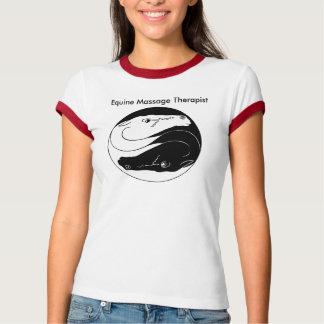 Pferdeartige Massage T-Shirt