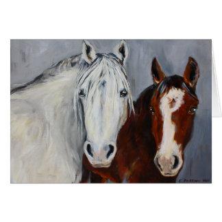 Pferdeartige Stimmen Mystiker und Wyatt Karte