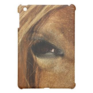 Pferdeaugen-Foto iPad Mini Hülle
