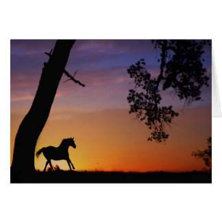 PferdeBeileids-Karten-Geist des Pferds Karte