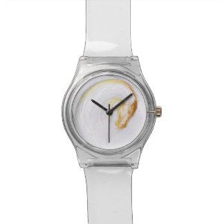 Pferdejahr-chinesische Tierkreis-Zeichen-Uhr Uhr