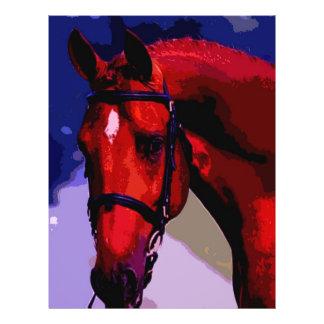 Pferdekopf Individuelle Flyer