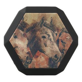 Pferdekünstlerisches Aquarell malend dekorativ Schwarze Bluetooth Lautsprecher