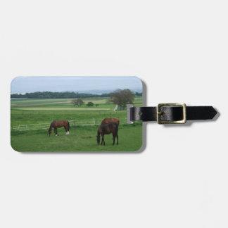 Pferdeliebhaber-Gepäckanhänger Kofferanhänger