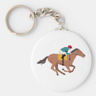 Pferdereiter Kentuckys Derby Schlüsselanhänger