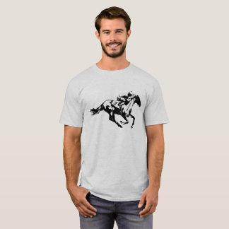 Pferderennen-Jockey der Nr.-eine T-Shirt