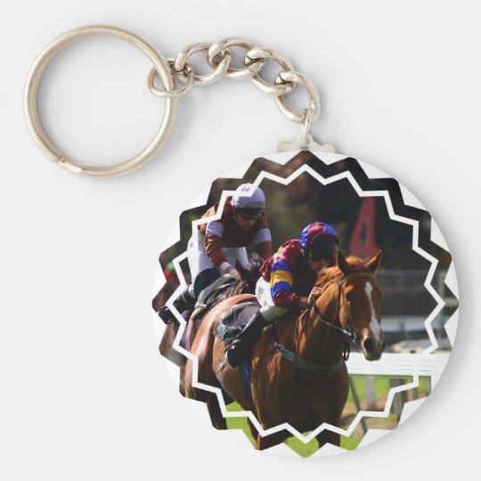 Pferderennen Keychain Schlüsselanhänger