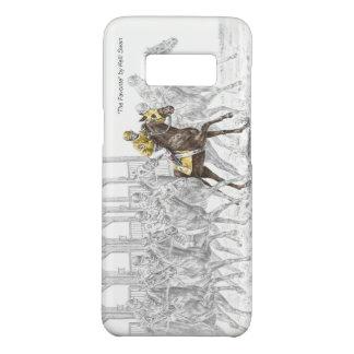 Pferderennen-Startmaschine Case-Mate Samsung Galaxy S8 Hülle