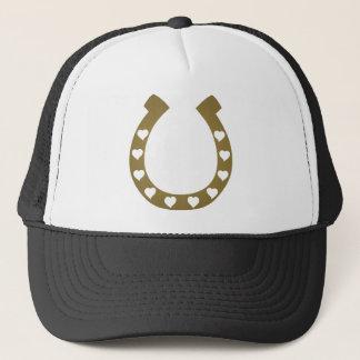 Pferdeschuhherz-Cowgirlcowboy Truckerkappe