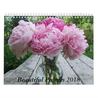 Pfingstrosen 2018 Kalender-Blumen Kalender
