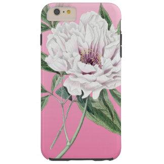 Pfingstrosen-Rosa Tough iPhone 6 Plus Hülle