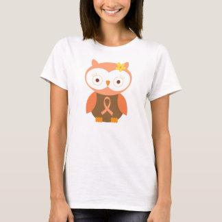 Pfirsich-Band-Bewusstsein T-Shirt