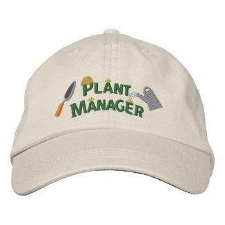 Pflanzen-Manager 2 Besticktes Baseballcap
