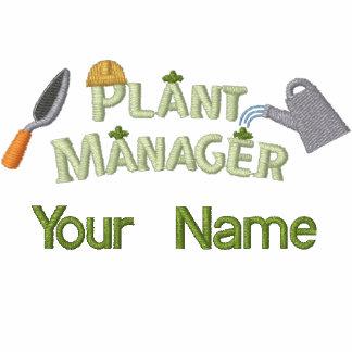Pflanzen-Manager 2 Bestickte Polos