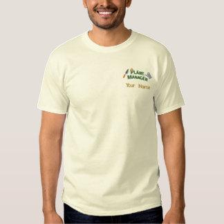 Pflanzen-Manager 2 Besticktes T-Shirt