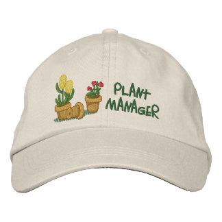 Pflanzen-Manager Bestickte Kappe