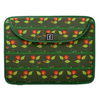 Pflanzen und Blumen MacBook Pro Sleeve