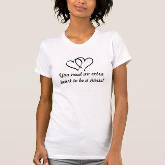 Pflege mit Herzen T-Shirt
