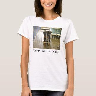 Pflege - Rettung - adoptieren Sie Behälter T-Shirt