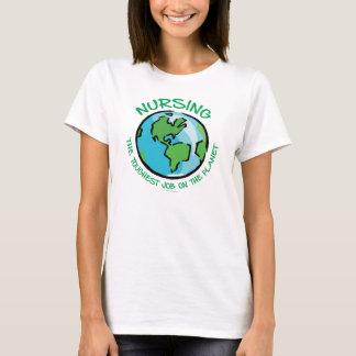 PFLEGE: Stärkster Job auf dem Planeten T-Shirt