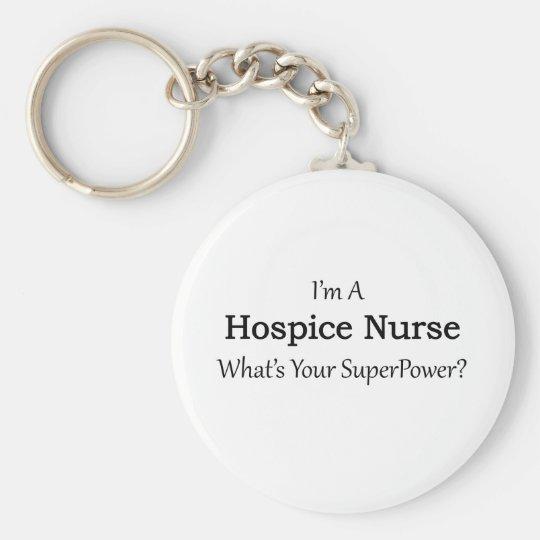 Pflegeheim-Krankenschwester Standard Runder Schlüsselanhänger