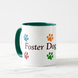 Pflegehundec$mamma-bunte Tatzen-Drucke Tasse