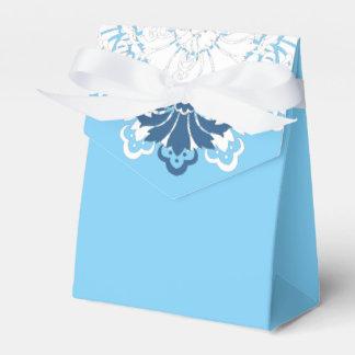 PH&D blauer Türkis-weißer Geschenkkarton