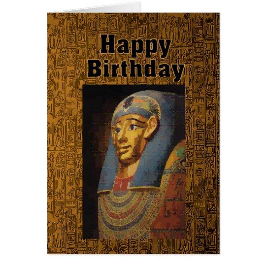 Pharao-alles- Gute zum GeburtstagSpaß Grußkarte