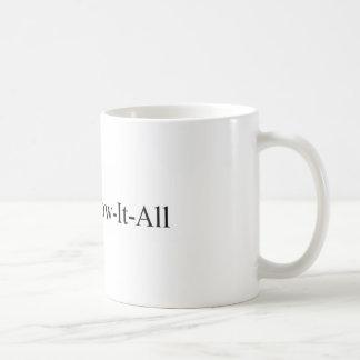 PhD-Frauen-Abschluss, Dr. Wissen-Es-All Mug Kaffeetasse