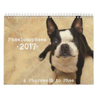 Pheelosophees Kalender 2017