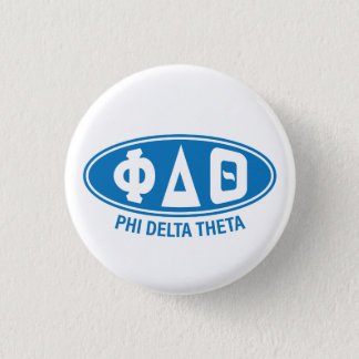 Phi-Deltatheta | Vintag Runder Button 2,5 Cm