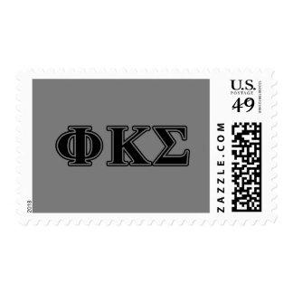 Phi-Kappa-Sigma-gotische Schriften 2 Briefmarken