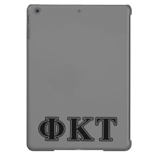 Phi-Kappatau-gotische Schriften iPad Air Hülle