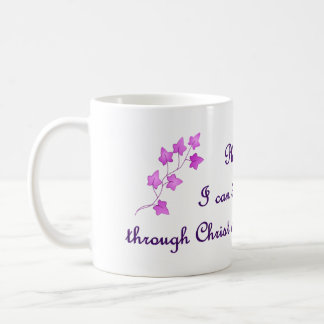 Phil-4:13: Ich kann alle Sachen durch Kaffeetasse