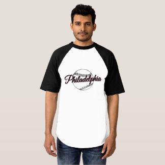 Philadelphia-Baseballspaß T - Shirt
