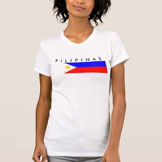 Philippinen-Landesflaggenationssymbol T-Shirt