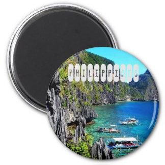 Philippinen Runder Magnet 5,1 Cm