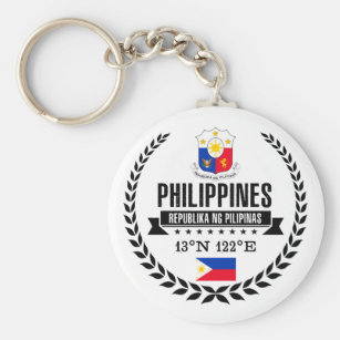 Philippinen Schlüsselanhänger