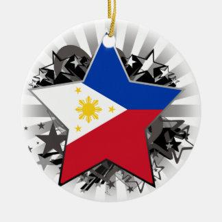Philippinen-Stern Keramik Ornament