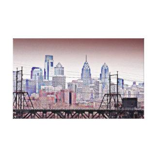 Philly Korn Leinwanddruck