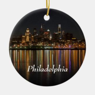 Philly Nacht Keramik Ornament