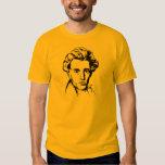 Philosophie-Existenzialist portra Soren T-shirts