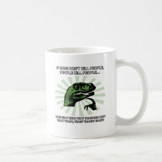 Philosoraptor Toast und Toaster Kaffeetasse