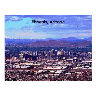 Phoenix, Arizona Skycape in der Tageszeit Postkarte