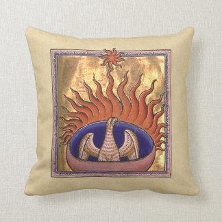 Phoenix, das von der Asche steigt Kissen