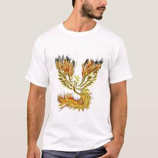 Phoenix-Feuer-Art T-Shirt